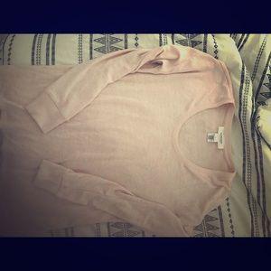 Pink light sweater tunic
